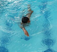 swimming by bayu harsa