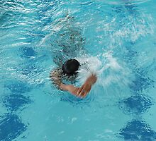 swimming by bayu harsa