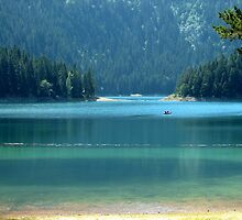 Big & Small Black Lake by Ana  Marija