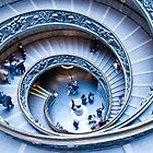 Vatican Staircase by juliegrath