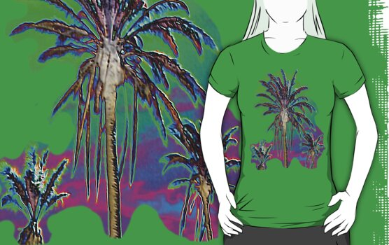 Multi Palms by BevsDigitalArt