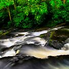 POCONO WATERFALL by MIKESANDY