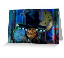 Timemaster #2 Greeting Card