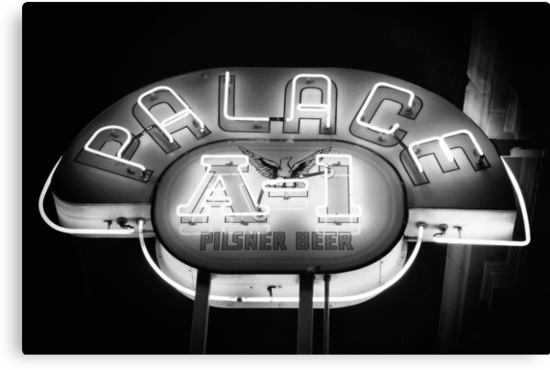 The Palace Saloon by Bob Larson