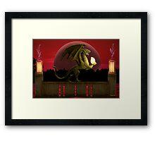 Dragon's Treasure Framed Print