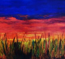 Savanna Nights by Cathy Gilday