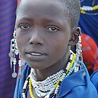 The Maasai Mona Lisa, Tanzania, Africa by Adrian Paul