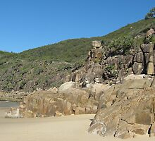 Beachscape at Little Bay, N.S.W. Australia. by Mywildscapepics