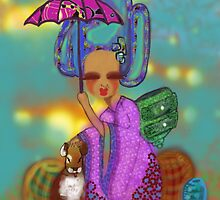Staying out of The Rain by Beatrice  Ajayi