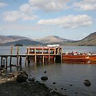 Derwentwater Launch by John Keates