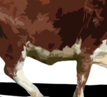 Lonely Cow Sticker