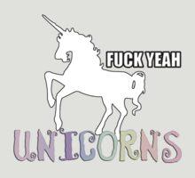 Fuck yeah Unicorns by GoreGlam
