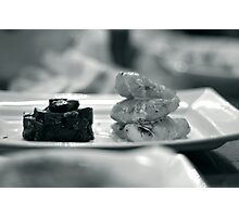 Monkfish and Beetroot Photographic Print
