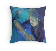 """Touching the ephemeral"" - from ""Whispers"" series Throw Pillow"