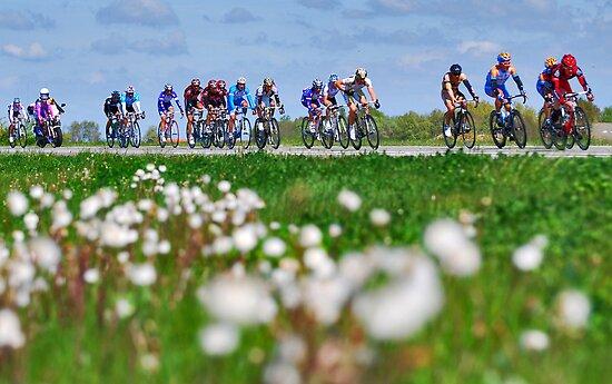 Giro d'Italia in Zeeland by Adri  Padmos