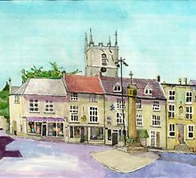 Stow on the Wold market place by doatley