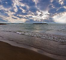 The Beach at Presque Isle by Kathy Weaver