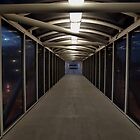 Amtrak Walkway, Corona, California by Stephen Burke