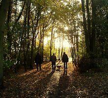 Autumn Walk by cassiegirl