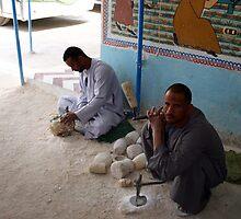 Alabaster workers by desertman