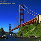 Golden Gate Bridge by Leonard Shaefer