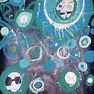 Blue Dizzies by lacey lee