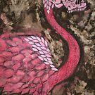 Skullamingo by lacey lee