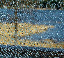 Sea View Through a Broken Glass by Ritva Ikonen