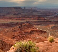 View Off Dead Horse Point by Vincent James