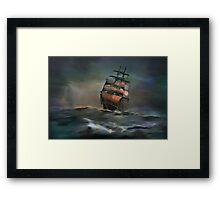 ....ocean....... Framed Print