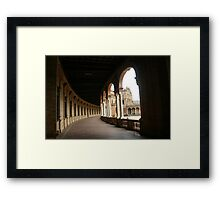 Through these Arches Framed Print