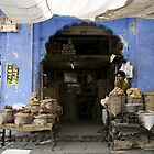 India Market Man by EveW