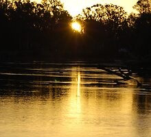 Murray River Sunset by MissyD