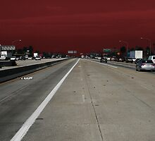 Freeway Red by Jane McDougall