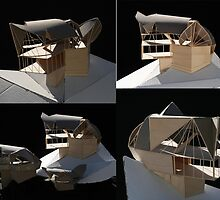 arch exercise-house on a hill by Braelyn Hamill