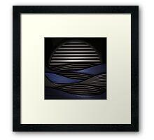zen vent Framed Print