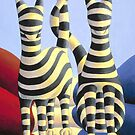 Genetic  cats by Alan Kenny