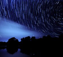 The Star Trail Experience - Dreamcatcher by Matthew Jones