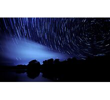 The Star Trail Experience - Dreamcatcher Photographic Print