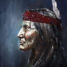 Apache   (Native American) by Arturas Slapsys