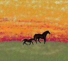 Evening Reverie by Carole Boyd