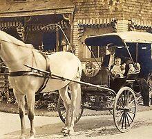 Cedar Bank Again ~ 1914 by artwhiz47