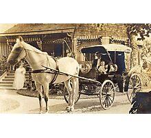 Cedar Bank Again ~ 1914 Photographic Print