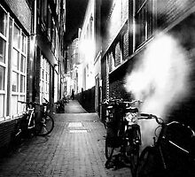 STEAMY DARK ALLEY by Scott  d'Almeida