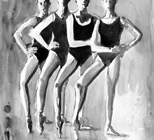 ballet # 1 by Loui  Jover