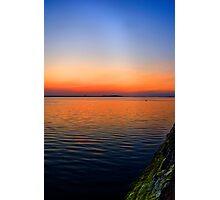 Volcanic Sunset Photographic Print