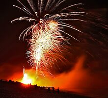 Hastings Bonfire Firework Display by Shane Ransom