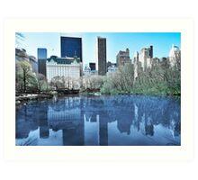 Central Park1 Art Print