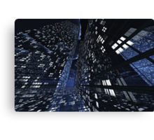 Poster-City 0 Canvas Print