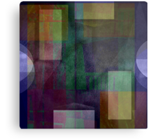 i am abstracted in smoke  Metal Print